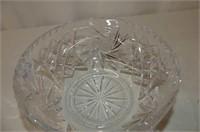 Bohemian Pinwheel Crystal Bowl