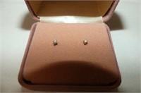 CZ Jewellery--Ball Pendant & Matching Earrings,