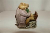 Beswick  Figures--4 Beatrix Potter & 1 Disney