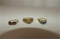 Collection of 9 Rings