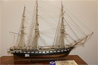 HMS Victory Book & USS Constitution Ship
