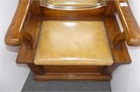 Hall Seat w/Mirror & Storage