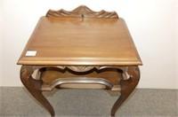 Telephone Desk w/Shelf & Chair