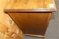 Maple Cabinet w/2 Drawers & 2 Doors