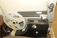 2 Motion Picture Projectors, Globe Rechargeable Ba