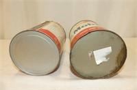 Mobiloil Quart Tin, Mobil Antifreeze Quart Tin
