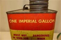 Gallon Gasoline Can, Maple Leaf Super Antifreeze L