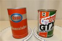 Castrol GTX 10W40 Litre Tin, Esso Mineralube