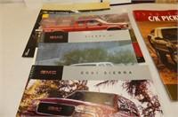 Literature--GMC, Chev Trucks  1988-90-91-96-97-98-