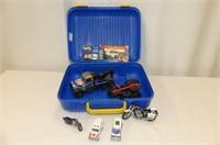 Blue Plastic Carry Case w/Roush Racing/Valvoline C