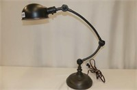 Cast Base Adjustable Desk Lamp