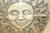 Garden Tic Tac Toe Set, Hanging Sun Stone, 3 Solar