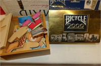Games--Pictionary, Crib, Beat the Parents, Tic Tac