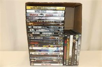 27 Action DVD's