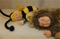 Shaky Head Dog, Anne Geddes Baby Bee, 2 Bears,