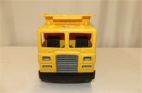 Plastic--Mattel Dump Truck, Home Hardware Tractor