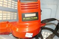 Blue Laundry Basket, Craftsman 120V 7.5 Amps