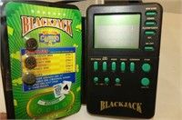 Black Jack Electronic Game, Card Dealing Rack, Ost
