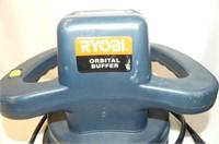 """Ryobi 10"""" Orbital Buffer in Case"""