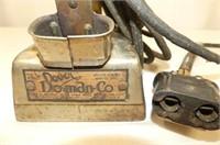 Dover Doman Co. Electric Iron No.5 w/Holder