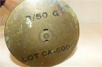 Brass Spittoon, Brass Shell Casing