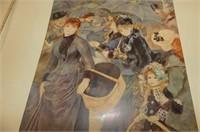 3 Abrams Art Folders--Renoir, Van Gogh, Toulouse-L