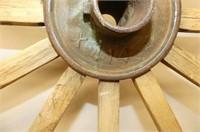 "Massey Harris Co. Wooden Wheel      48""D"