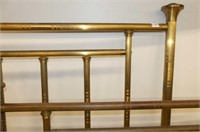 Brass Plated Double Bed Frame