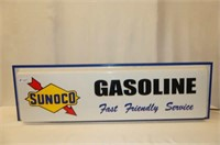 Lighted Sunoco Gasoline Sign