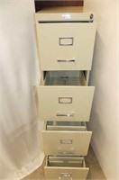 Commander 4 Drawer File Cabinet
