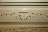 Ivory Double 6 Drawer Dresser