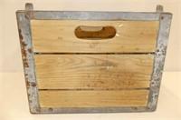Sealtest Wooden Milk Crate