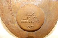 Colman Orchards Wooden Apple Box, Vintage Metal Ba