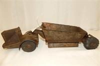 Lumar Vintage Tin Earth Mover