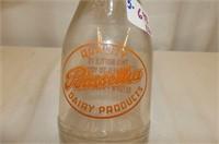 2 Milk Bottles--Hillcrest Dairy Hamilton, Poinsett