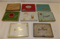 8 Cigarette Tins