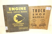 Clinton Engines Sales & Service Binder