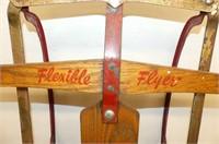"Flexible Flyer Sleigh          46""L"