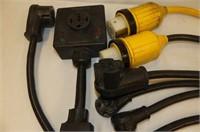 Industrial Surge Protector, 5 +2  RV 30 Amp Hook