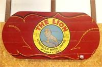 The Lion' Lobsinger Bros. Mildmay Wooden Panel