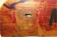 Massey Harris Co. Wooden Cutting Box Panel
