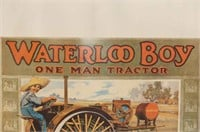 Waterloo Boy 'One Man Tractor Poster'