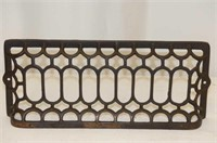 "Cast--15x6"" Grate, 3-Legged Stand 11.5""H, 1900"