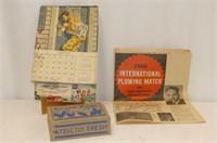 """Strictly Fresh Eggs Cardboard Box 5x7"""", 1952 Schwa"""