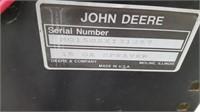 JOHN DEERE 15 GALLON TON SPRAYER