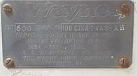 WAYNE 500 TEXACO PUMP