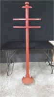 "66"" SIGN POST ON STAND"
