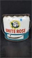 25LB WHITE ROSE GREASE PAIL