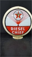 "17"" TEXACO DIESEL CHIEF GLOBE"