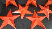 7 PLASTIC STARS
